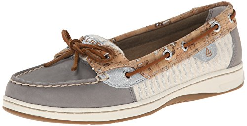 Eastland Solstice - Women's Boat Shoe (Tan Leather/Flower Print