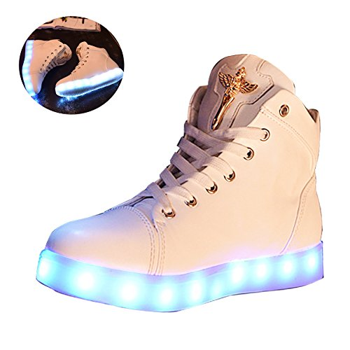 New-Women-LED-Light-Luminous-Sneaker-High-Top-Lovers-Athletic-Shoes-USB-Charge-0